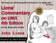 Lions Commentary on UNIX